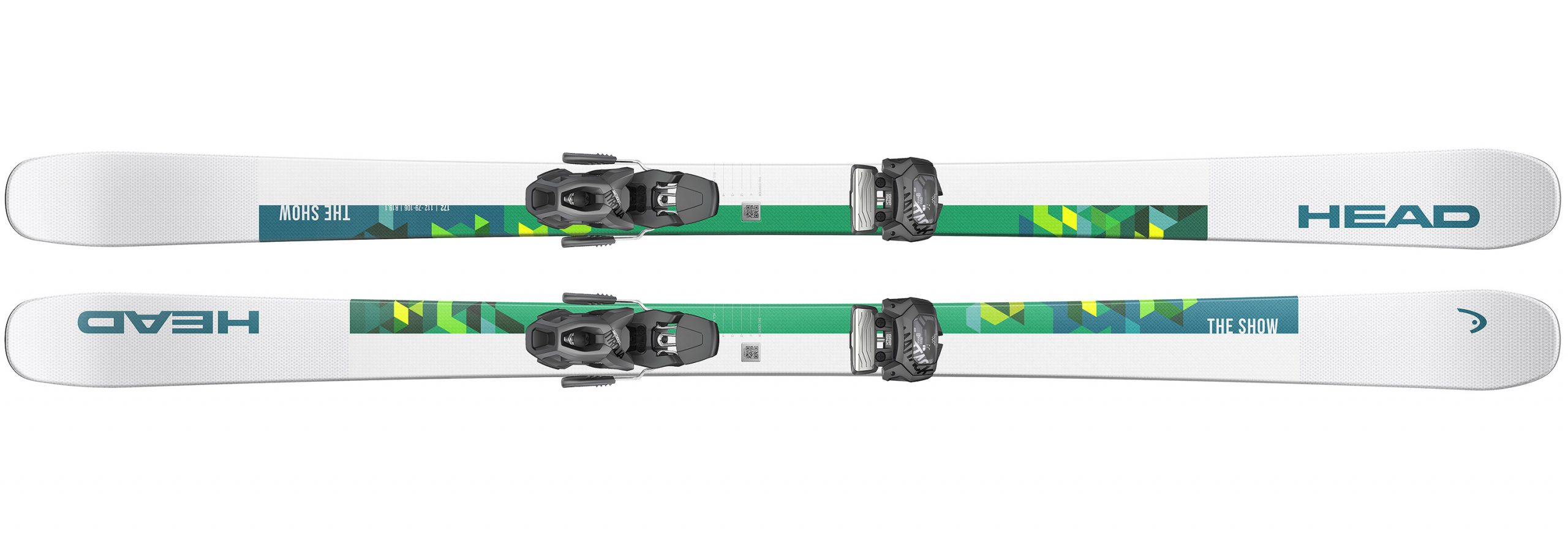 Ski HEAD The Show + SX 10 Blanc