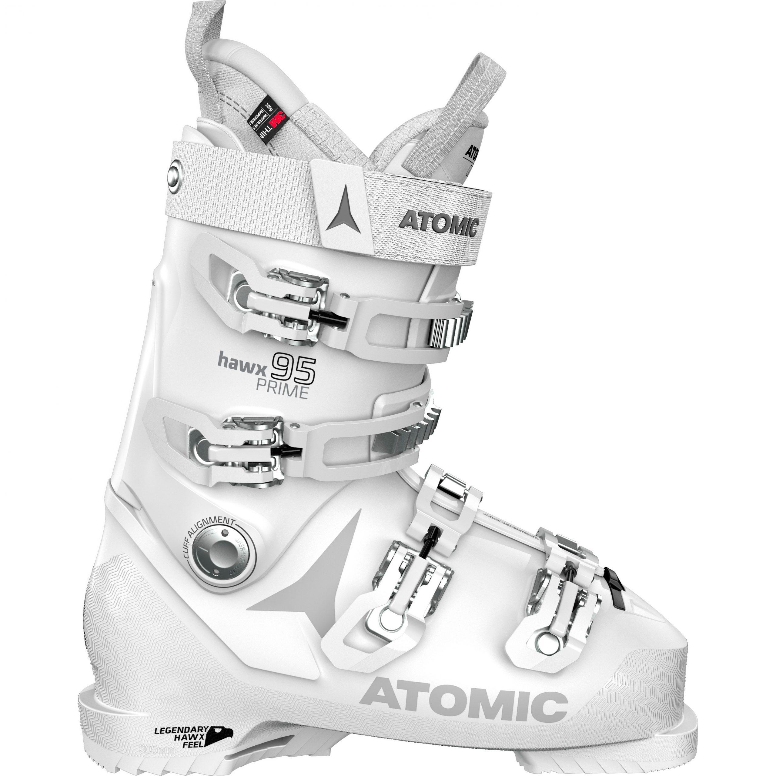 Botte Atomic Hawx Prime 95 Femme Blanc Argent