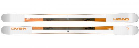 Ski HEAD Caddy Blanc Orange