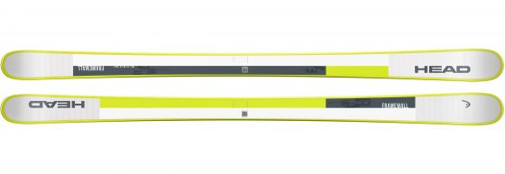 Ski HEAD Frame Wall + ATTACK² 13 GW Blanc Vert