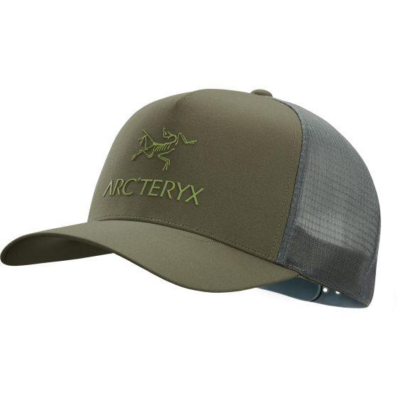 Casquette Arc'teryx Trucker Logo Tatsu Vert