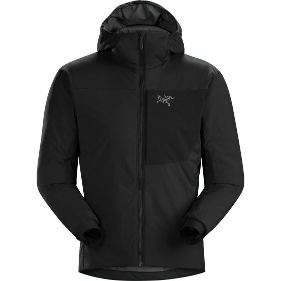 Veste à capuche Arc'teryx Proton LT Homme Noir