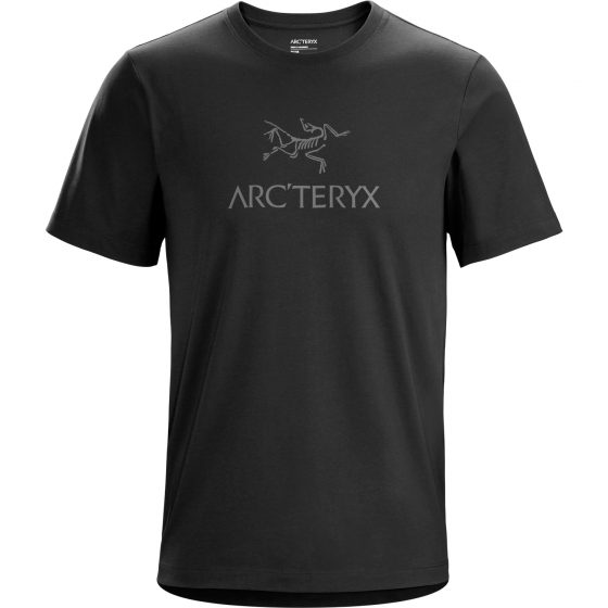 T-Shirt Arc'teryx Arc'word Homme Noir