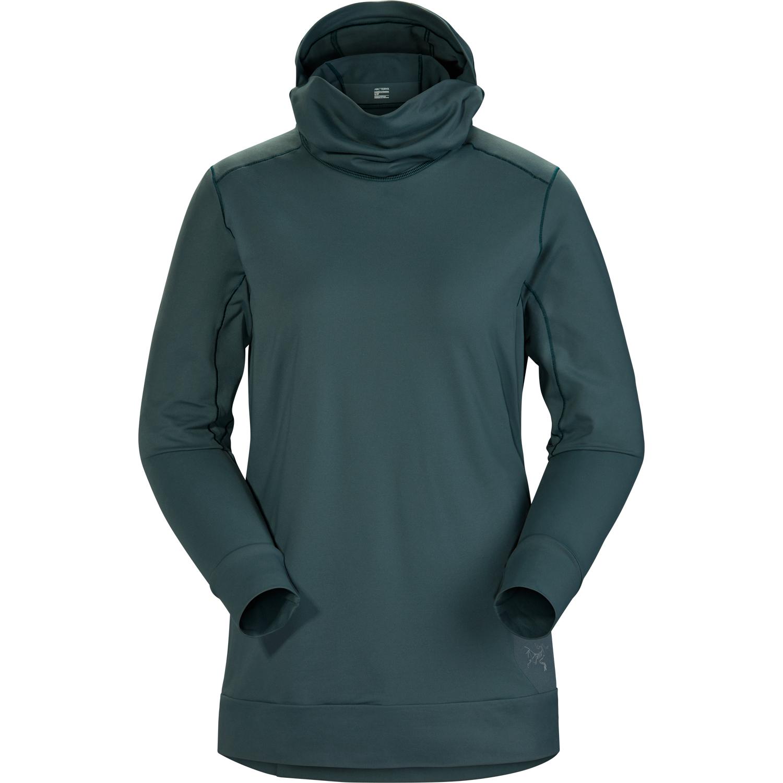 Veste à capuche Arc'teryx Vertices Femme Vert