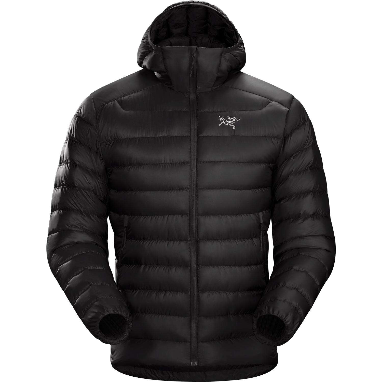 Veste à capuche Arc'teryx Cerium LT Homme Noir