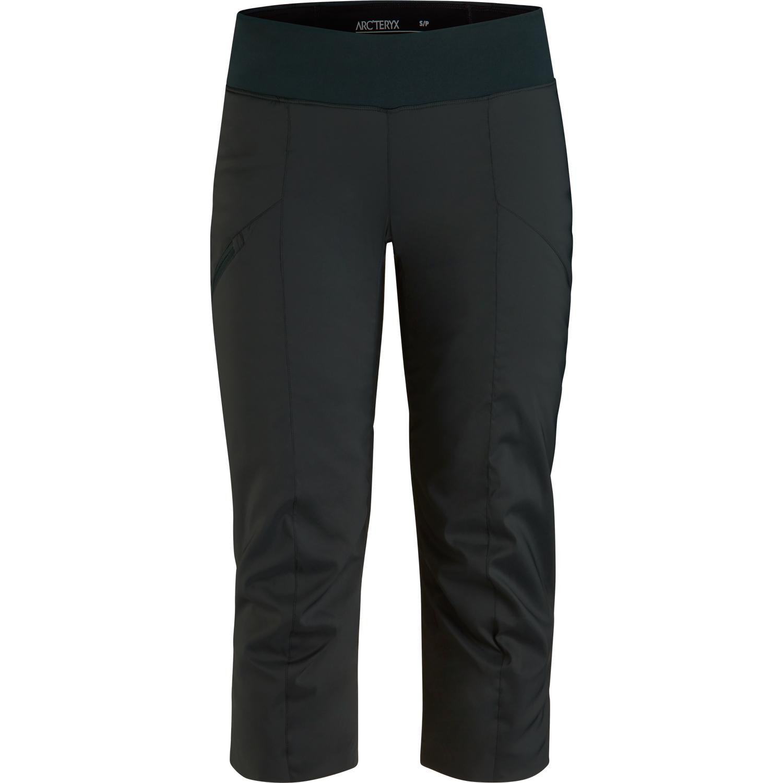 Pantalon Corsaire Arc'teryx Axina Femme Noir