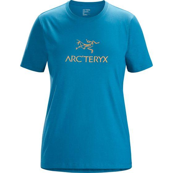 T-Shirt Arc'teryx Arc'word Femme Bleu
