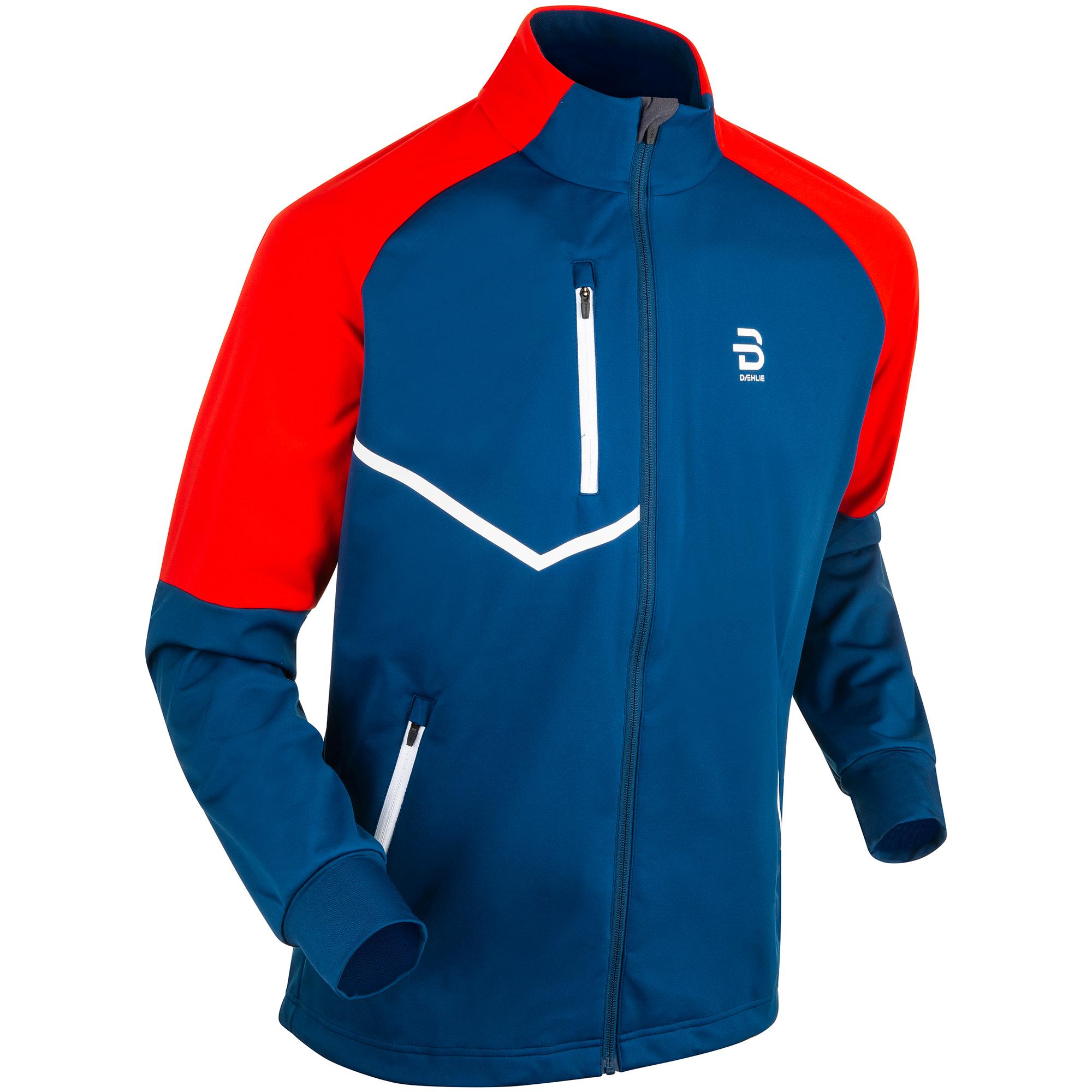 Veste Bjorn Daehlie Jacket Kikut Bleu Rouge