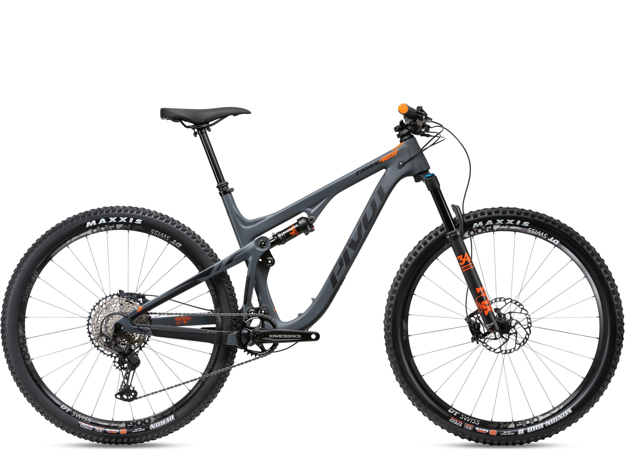 Pivot Trail 429 Race XT 2020 Gris