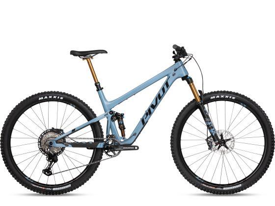 Pivot Trail 429 Pro XT/XTR Bleu Roues Carbone