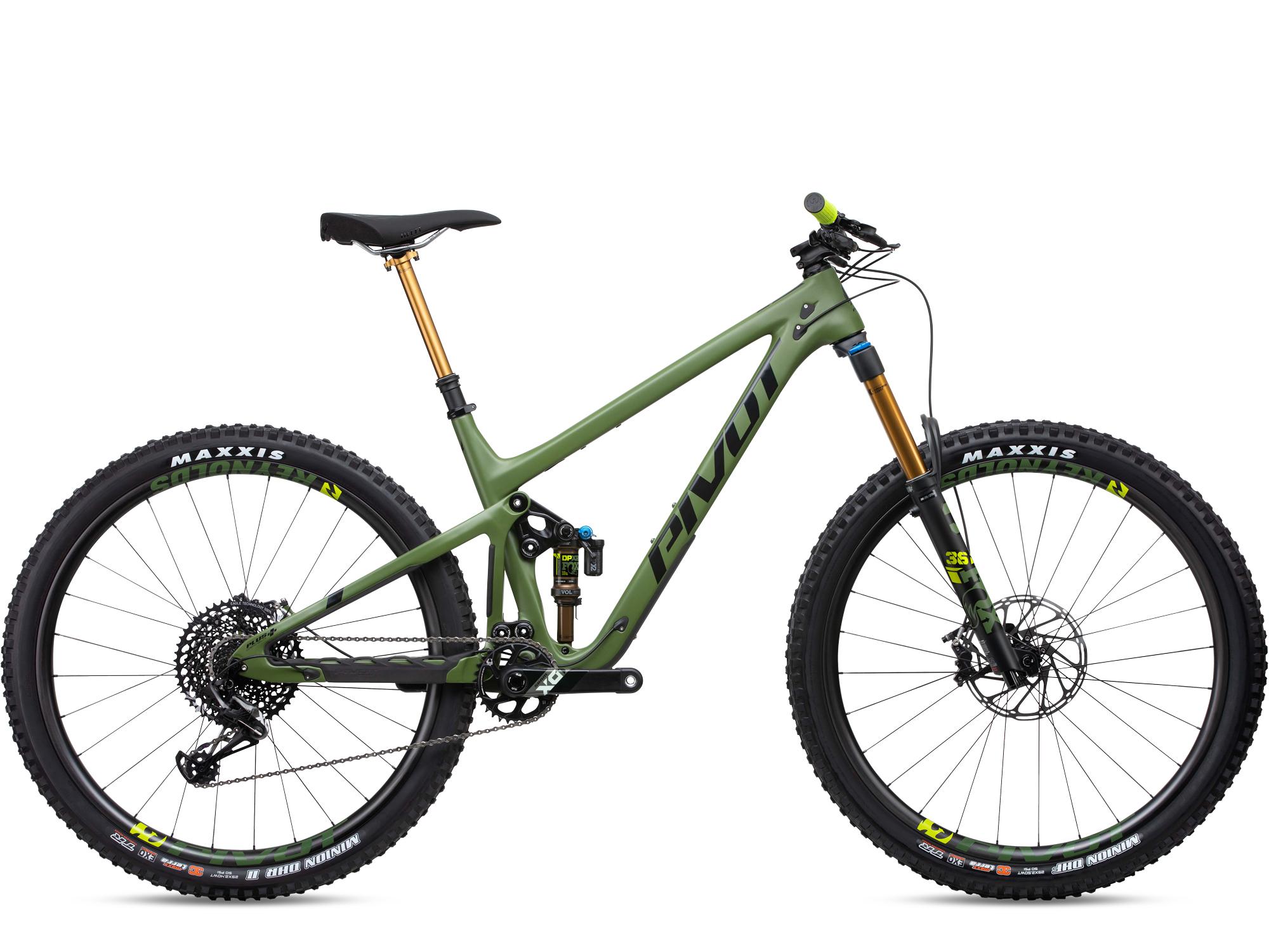 Pivot Switchblade Pro X01 Vert Roues Carbone