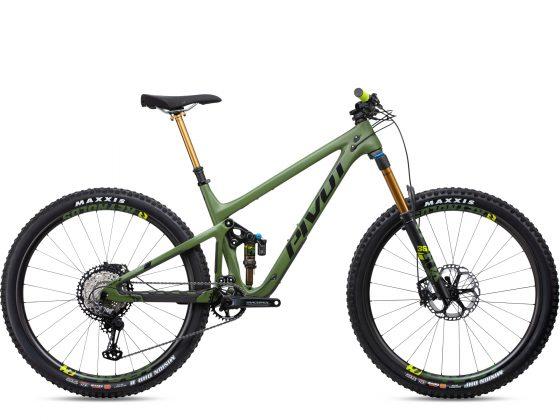 Pivot Switchblade Pro XT/XTR Vert Roues Carbone