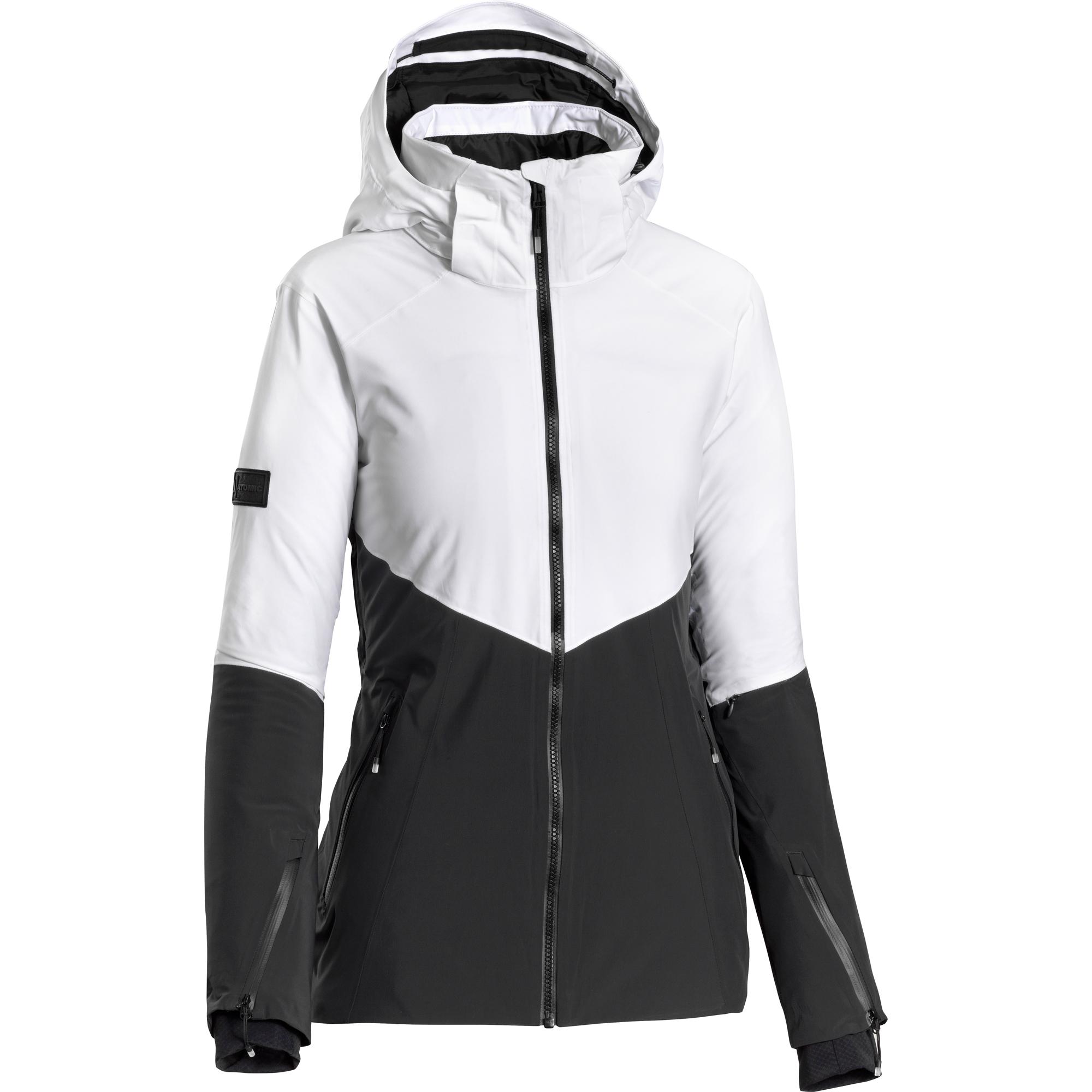 Veste Atomic Snowcloud 2L Femme Blanc Noir